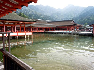 厳島神社の時間は