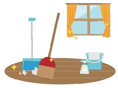 大掃除どこから手をつける イメージ