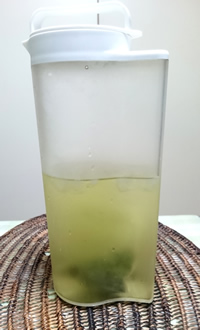 氷水出し茶 大容量で作りました
